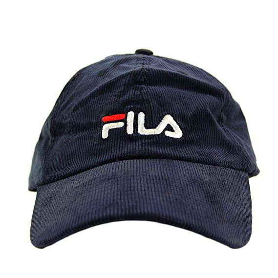 99043327bb2 Image Unavailable. Image not available for. Colour  Fila Unisex Heritage  Corduroy Adjustable Cap ...