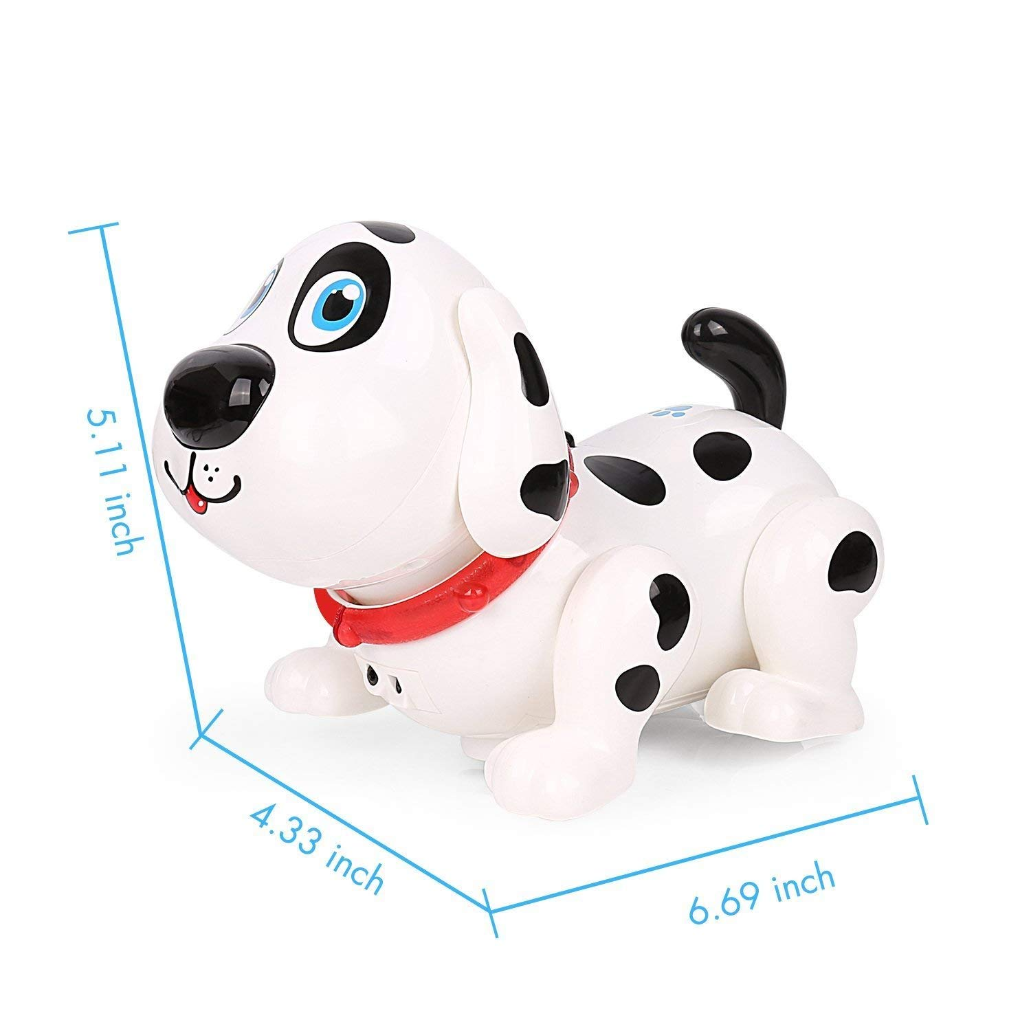 Electronic Dog,Interactive Puppy, Touch with Chasing, Walking, Dancing, Music, Interactive and Induction Toys for Boys or Girls Birthday Gifts by MIGO (Image #2)