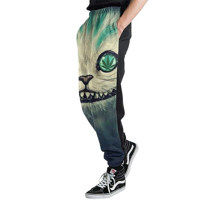 Yaitty Psychedelic - Pantalones de chándal para Hombre, diseño de ...