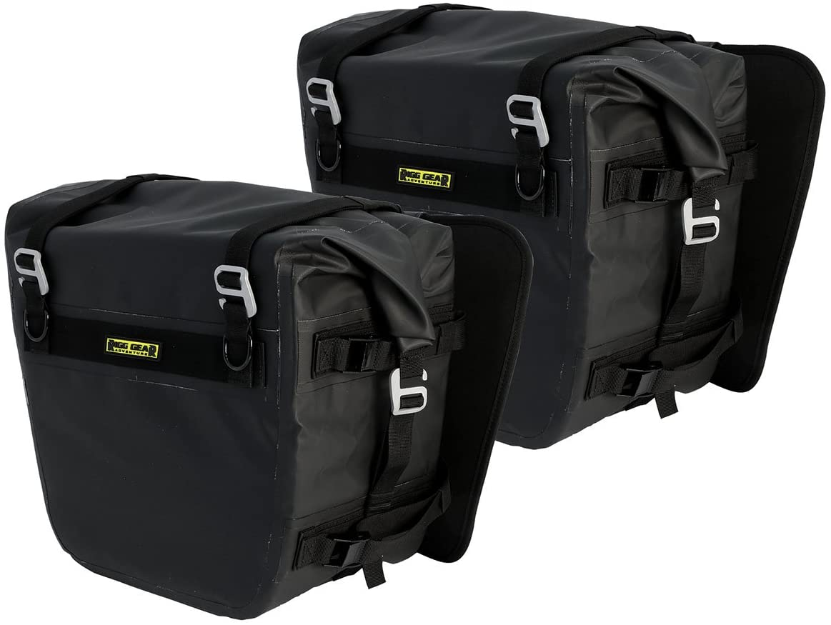 Nelson-Rigg Yellow/Black Sierra Dry Saddlebags}