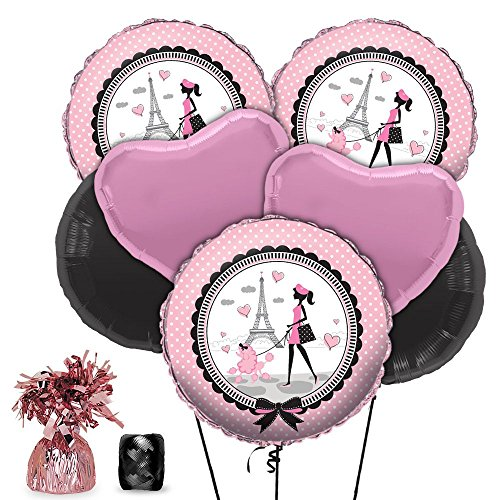 Paris Party Balloon Kit (Each) - Party Supplies ()