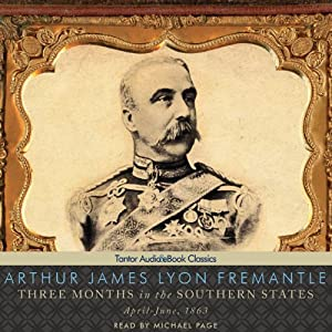 Three Months in the Southern States Audiobook