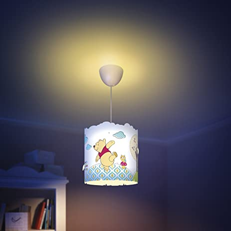Philips imaginative lighting winnie the pooh childrens bedroom hanging lamp shade