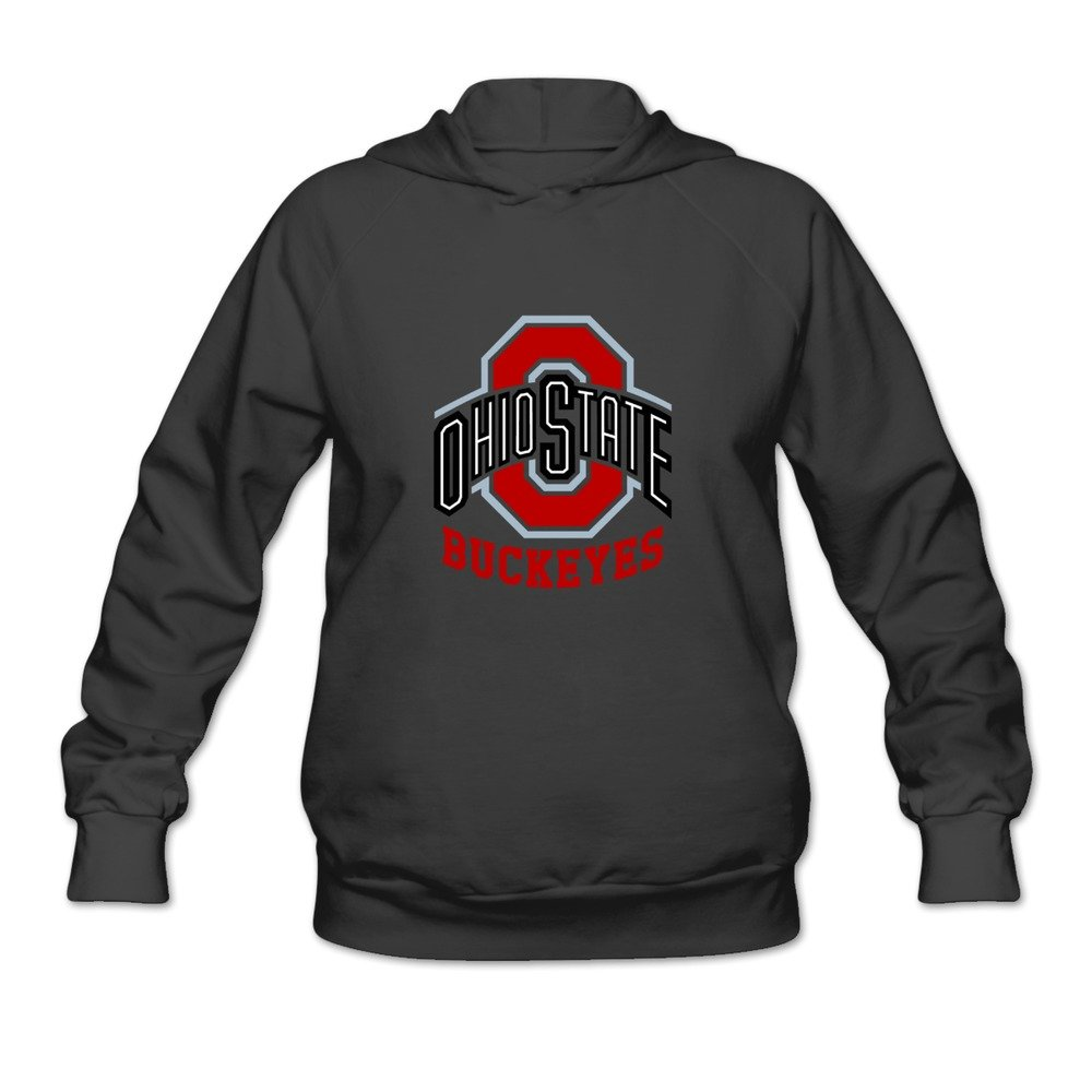 Women s Osu Ohio State Buckeyes Personalized Hoodies Sweatshirt Black Size  S By Yisw Apparel 8271a6581d