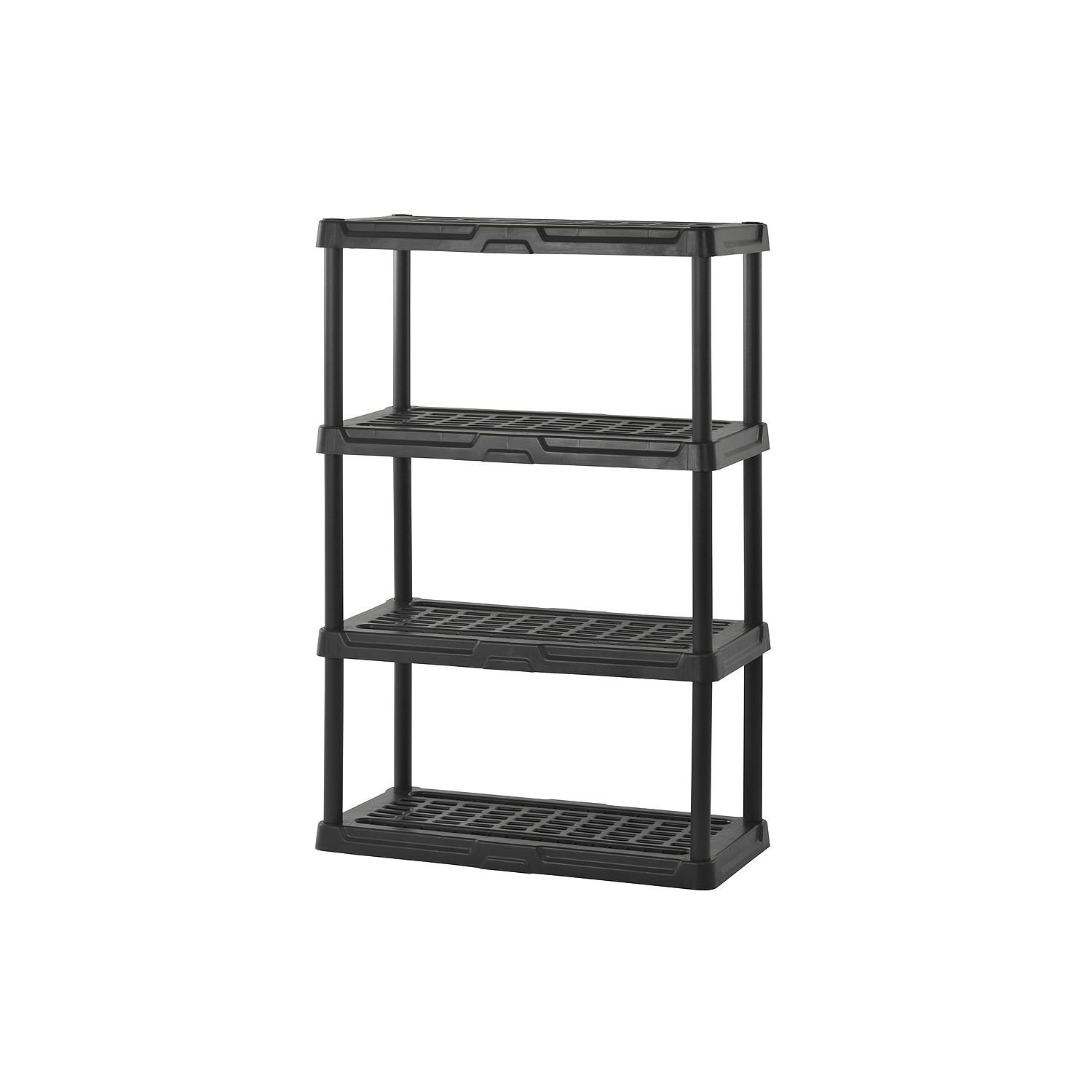 Surprising Product Of Sandusky 4 Level Resin Shelving Black 36 X 18 Alphanode Cool Chair Designs And Ideas Alphanodeonline