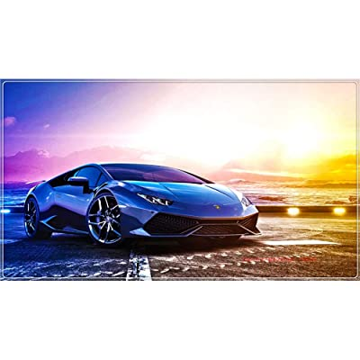 Adults IQ Games -Wooden Jigsaw Puzzle for Adults Kids - Polar Morning Light and Supercar - 300 500 1000 1500 Pieces Jigsaw Puzzle (Size : 300 Pcs): Toys & Games