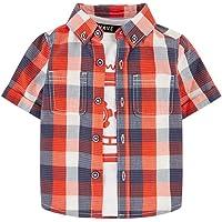 Mothercare MB Rp Check Shirt & tee SS