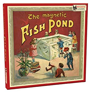 Cheatwell games bygone days magnetic fish pond game for Koi pond game online