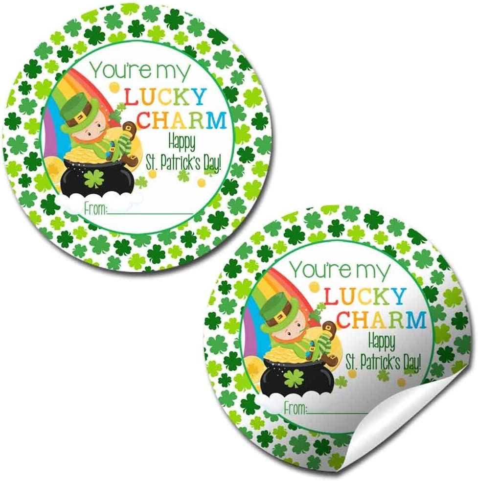 Patricks/'s Gift Tag Editable Gift Tag Template Leprechaun Hat and Shoes Favor Tags Personalized St Square Party Favor Tags