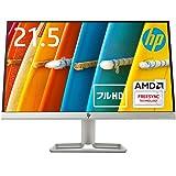 HP モニター 21.5インチ ディスプレイ フルHD 非光沢IPSパネル 高視野角 超薄型 省スペース スリムベゼル HP 22fw ホワイト (型番:3KS60AA#ABJ)