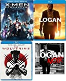 Noir Logan Special Edition 3 Disc Movie Pack Blu-Ray + DVD + DHD Hugh Jackman Wolverine & X-men: Apocalypse Super Hero Triple Feature