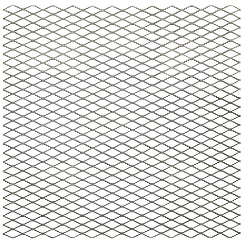 "National Hardware N301-606 4075BC Expanded Steel - 3/4"" Grid, 13 Gauge in Plain Steel, 24"" x 24"