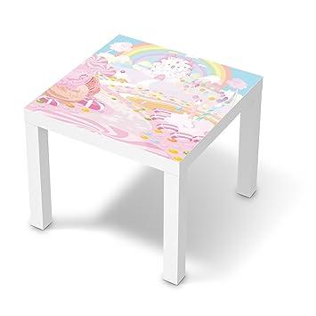 creatisto Möbelfolie selbstklebend für IKEA Lack Tisch 55x55 cm ...