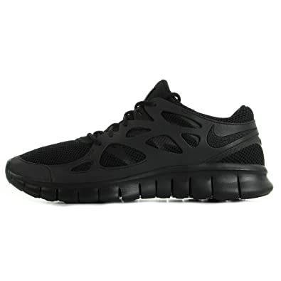 finest selection 7834a e68d4 Nike Free Run 2, Herren Laufschuhe Schwarz schwarz 42