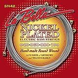 LaBella SN42 Labella 4Str Slap Cstlt 40-100