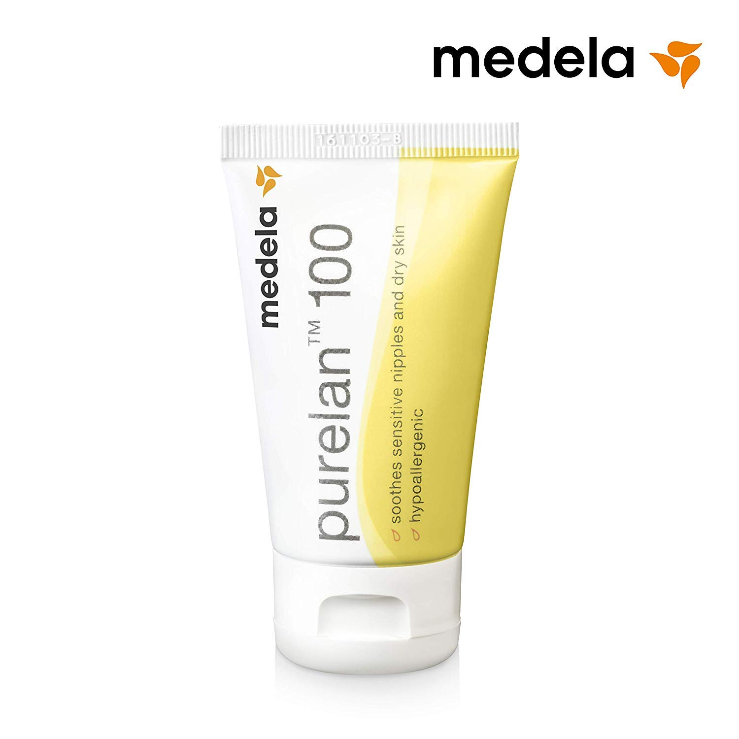 Purelan 100 Nipple Cream - 37g (100% Ultra-Pure and Natural Medical-Grade Lanolin) New Formula! by Medela