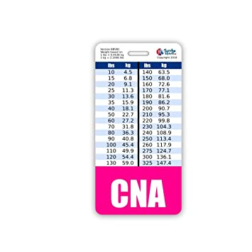 Amazon Cna Badge Buddy Vertical Wheight Weight Conversion