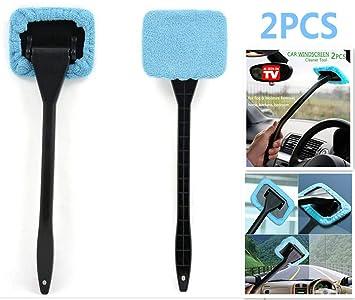 DSHT Paquete de 2 Herramientas limpiadoras de Parabrisas de Autos Desde la Ventana Interior Herramientas de