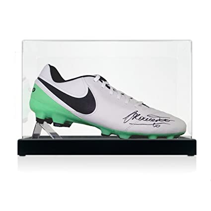 best website 5895e 8f42c Francesco Totti Signed Tiempo Soccer Shoe In Display Case at ...