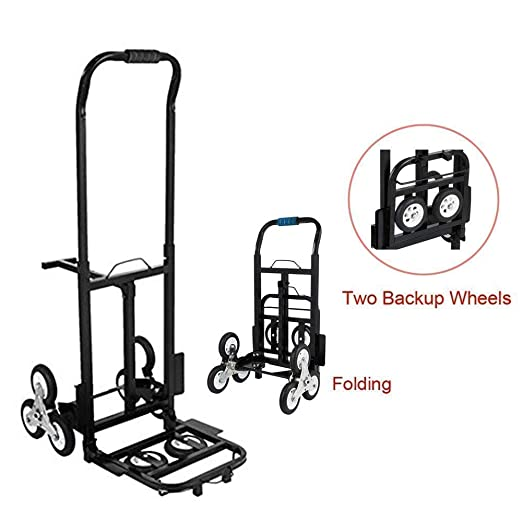 Amazon.com : ASdf Trolley Heavy Duty Spare 6 Wheel Mountain Bike 420 Lb Capacity All Terrain Ladder Climbing Ladder Trolley Portable Trolley : Garden & ...