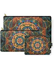 Society6 The Sri Yantra - Sacred Geometry Carry-All Pouch