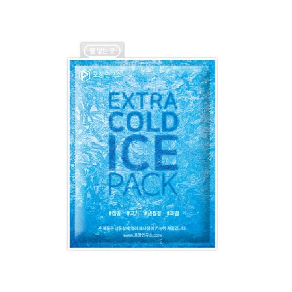 Ohara Glaçons réutilisables 4.7 x 6.7 Inch Bleu Forfait 10