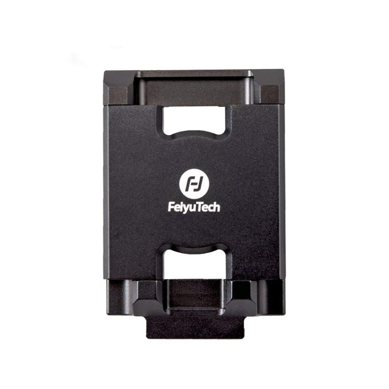 KMtar Feiyu 携帯電話ホルダー マウント ブラケット クリップ アダプター Feiyu G6 Plus アクションカメラ ジンバル クランプ ホルダー iPhone X用   B07QM7GPSN