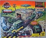 The Lost World Jurassic Park Matchbox Site B Fuel Depot Vintage 1996 Playset