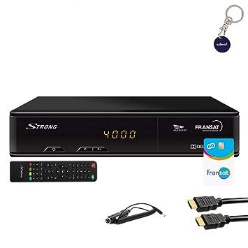 Pack receptor satélite STRONG SRT 7405 HD + Tarjeta Viaccess ...