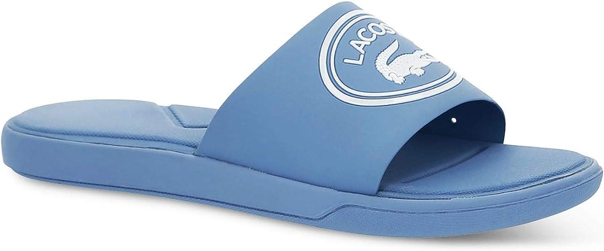 Lacoste Croco Slide 119 3 Cfa Sandales Bout Ouvert Femme