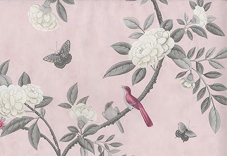 Chinoiserie Pale Pink 50 910 Wallpaper Amazon Co Uk Diy