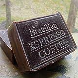 Brazilian Espresso Scrub Soap with Coffee Butter and Vanilla