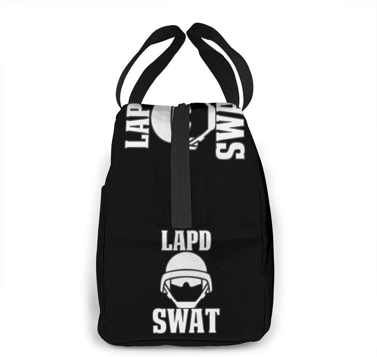 ChaojudingH LAPD Bolsa del almuerzo Bolsa de enfriamiento Tote Insulated Caja de almuerzo Thermal Bolsa del almuerzo For Women//Picnic//Boating//Fishing//Work