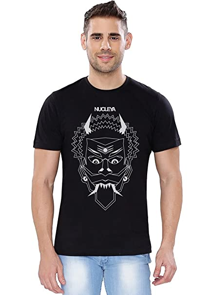a6140efc331 The Souled Store Koocha Monster Music Printed Premium Black Cotton T-Shirt  for Men Women and Girls  Amazon.in  Clothing   Accessories
