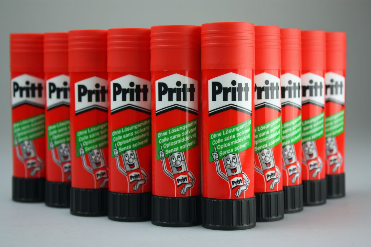 Colla Pritt Stick colla 10x 40g 30°C lavabile senza solvente Henkel 00040g