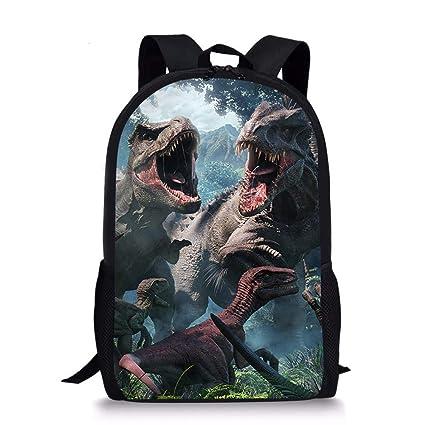eed477b08a27 Xinind Cool 3D Dinosaur Adventure Backpack Children School Book Bag  Printing Kids Backpacks (dinosaur 28)