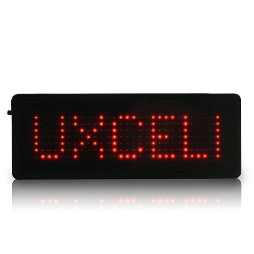 LED insignia mensaje de desplazamiento digital Tarjeta de la ...