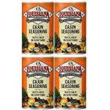 Louisiana Cajun Seasoning, 8 oz, (pack of 4)