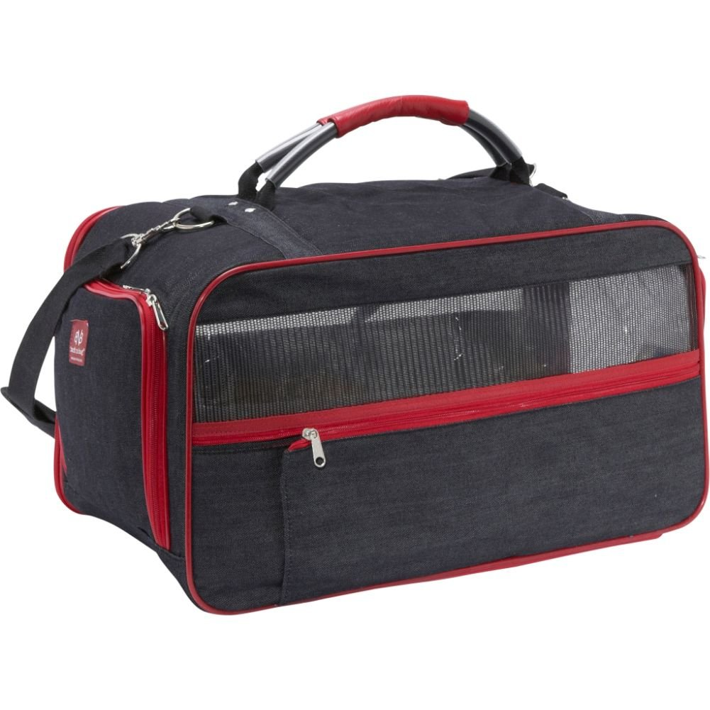 bark-n-bag Bio Denim Classic Carrier Collection Transportbox, groß