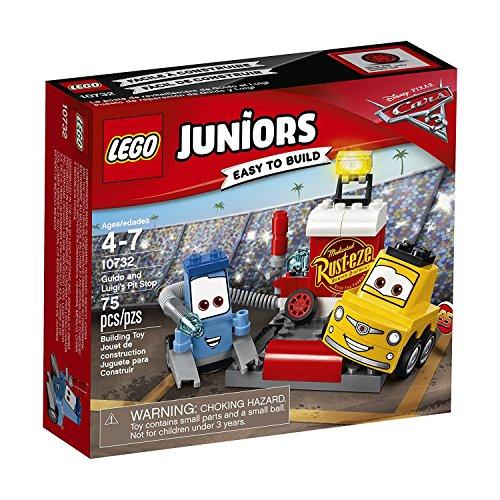 [해외] 레고 (LEGO) 쥬니어 디즈니 Cars/카 구이도와 루이 더의 피트 스톱 10732