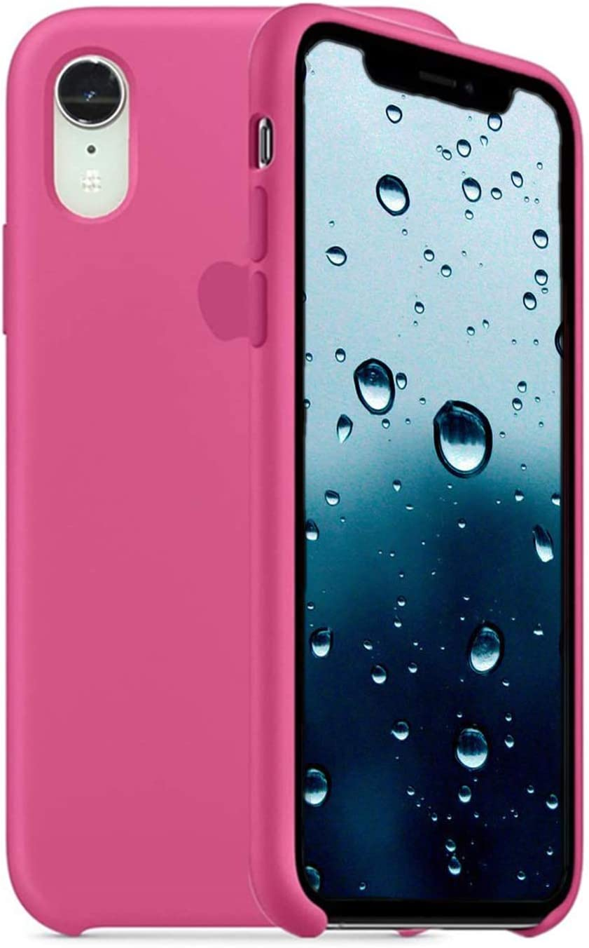 Silicone Case Compatible for iPhone Xs Max, Gel Rubber Protection Shockproof Cover Case - Soft Anti-Scratch Silicone iPhone 10Xs Max Phone Cases for Women |Dragon Fruit
