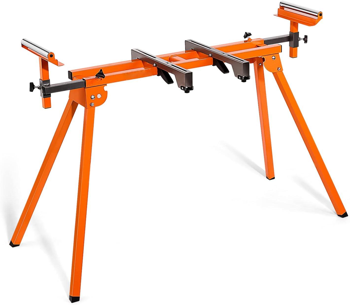 "Tacklife 75-4/5"" Sliding Rail Iron Miter Saw Stand $44.99 Coupon"