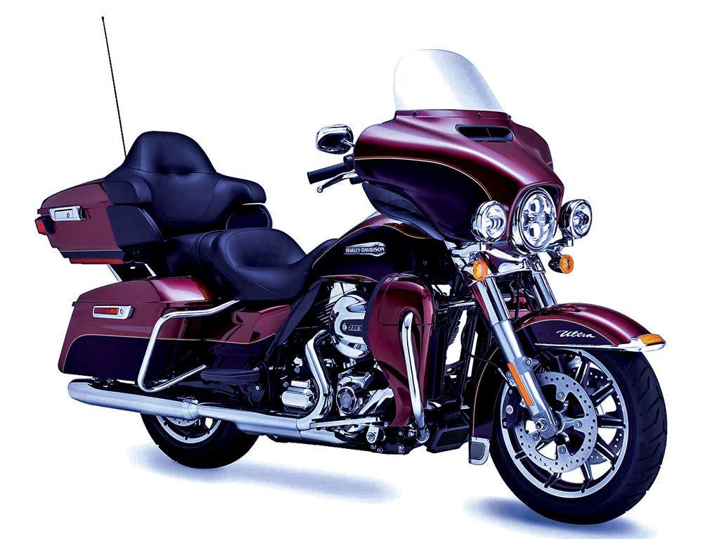 """J/&M ROKKER XXR 6.71/"""" Rear-Pod//Lower-Fairing Speaker Kit w//H-Output Grill Mounted Tweeters 2014-2019 Harley Ultra//Ltd # HURK-6712TW-XXR J/&M Corporation"""