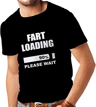 Fart loading Funny T-shirt Geek Tee Shirts- Men/'s T-SHIRTS Humor party