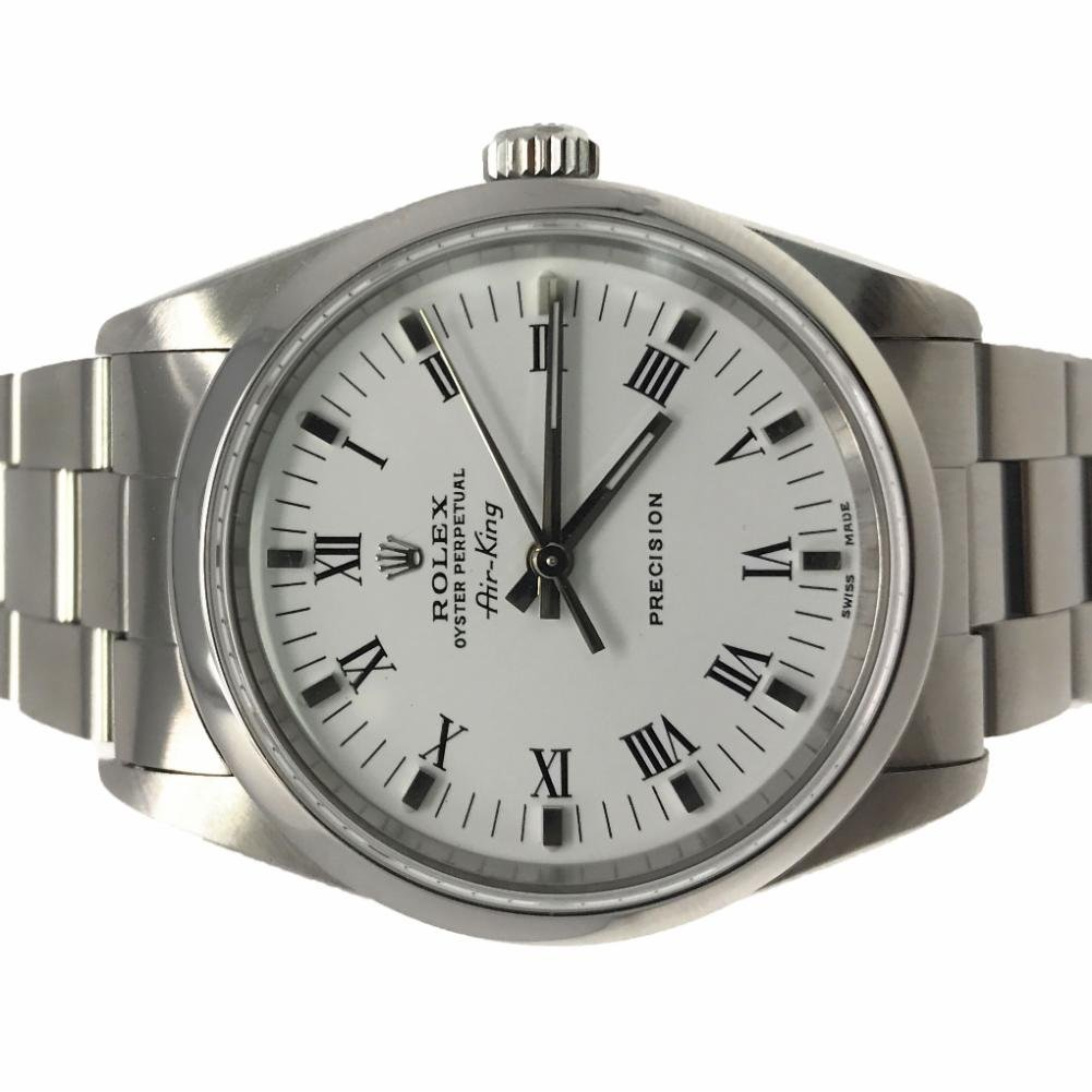 bbf3bba843f99 Amazon.com  Rolex Air-King swiss-automatic mens Watch 14000 (Certified  Pre-owned)  Rolex  Watches