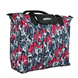Kuber Industries™ Waterproof Foldable Shopping Handbag, Travel Bag (Color & Print may vary as per availability)