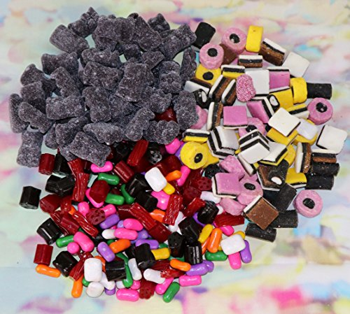 Licorice Candy Gift Box 2.5 Pounds - 3 Varieties for Red and