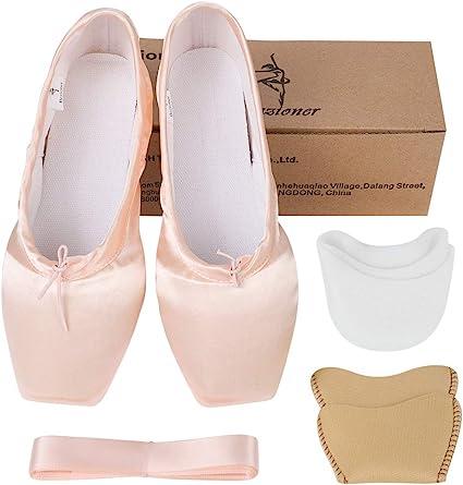 CL00008143 Azeeda Chaussons de Ballet Pochette en Toile