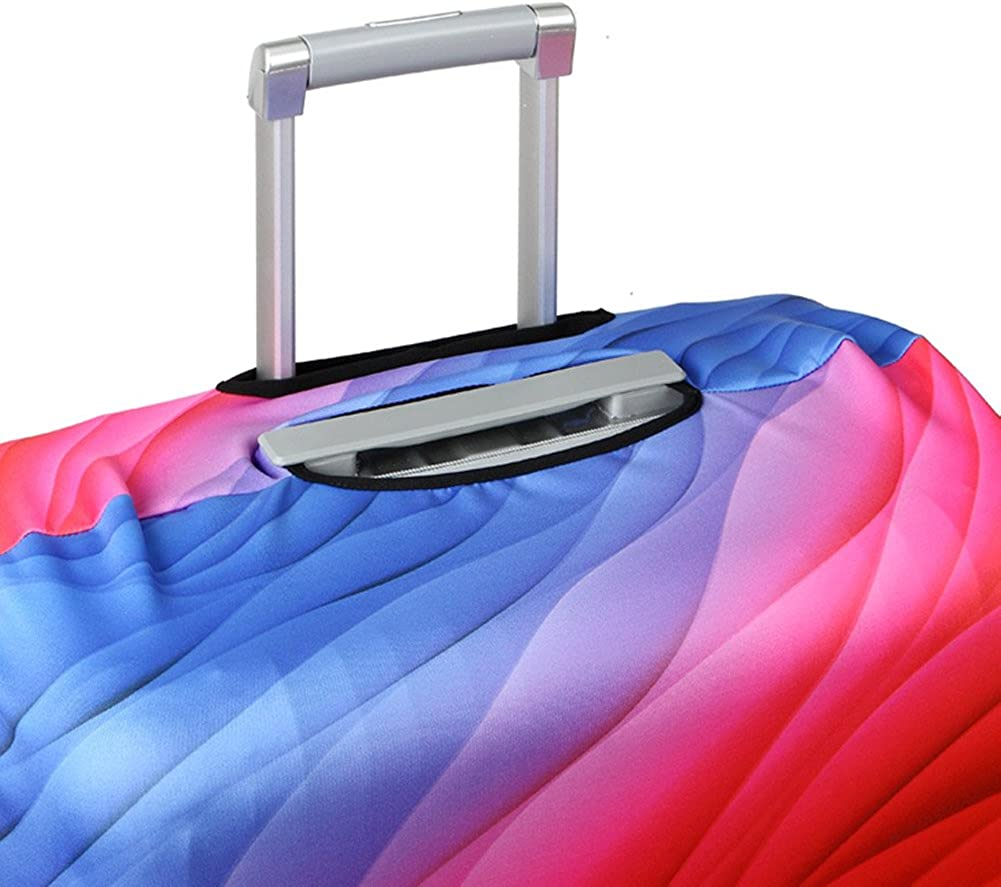 Travel Luggage Cover Spandex Suitcase Protector Creative Color Fits 18//20//24//28//32 Inches Luggage