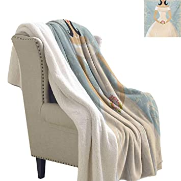 Stupendous Amazon Com Josepsh Bridal Shower Throw Blanket 60X47 Inch Bralicious Painted Fabric Chair Ideas Braliciousco